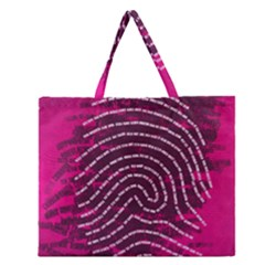 Above & Beyond Sticky Fingers Zipper Large Tote Bag