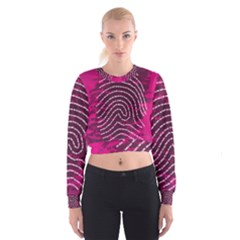 Above & Beyond Sticky Fingers Women s Cropped Sweatshirt