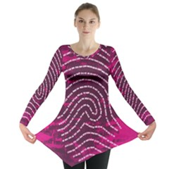 Above & Beyond Sticky Fingers Long Sleeve Tunic