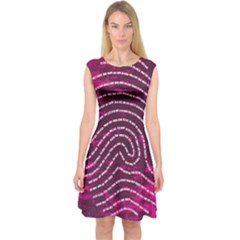 Above & Beyond Sticky Fingers Capsleeve Midi Dress