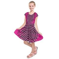Above & Beyond Sticky Fingers Kids  Short Sleeve Dress
