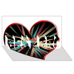 Above & Beyond BEST BRO 3D Greeting Card (8x4)