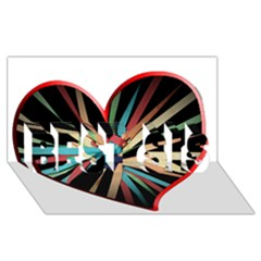 Above & Beyond BEST SIS 3D Greeting Card (8x4)