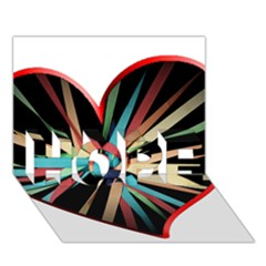 Above & Beyond HOPE 3D Greeting Card (7x5)