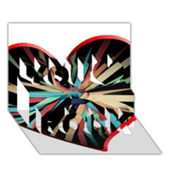 Above & Beyond You Rock 3D Greeting Card (7x5)