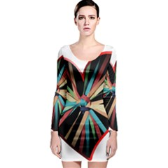 Above & Beyond Long Sleeve Bodycon Dress