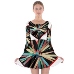 Above & Beyond Long Sleeve Skater Dress