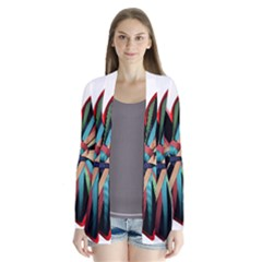 Above & Beyond Drape Collar Cardigan