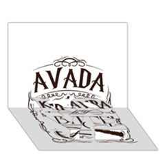 Avada Kedavra Bitch Love Bottom 3d Greeting Card (7x5)