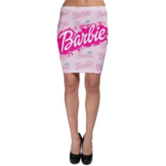 Barbie Pattern Bodycon Skirt