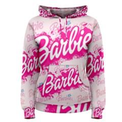 Barbie Pattern Women s Pullover Hoodie