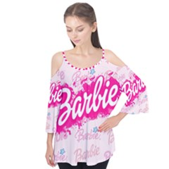 Barbie Pattern Flutter Tees