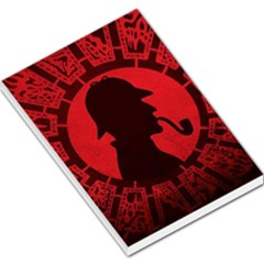 Book Cover For Sherlock Holmes And The Servants Of Hell Large Memo Pads