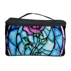 Cathedral Rosette Stained Glass Beauty And The Beast Cosmetic Storage Case