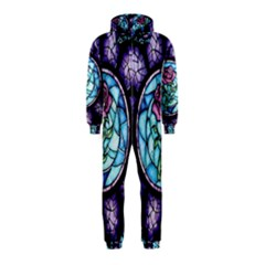 Cathedral Rosette Stained Glass Beauty And The Beast Hooded Jumpsuit (Kids)