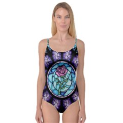 Cathedral Rosette Stained Glass Beauty And The Beast Camisole Leotard