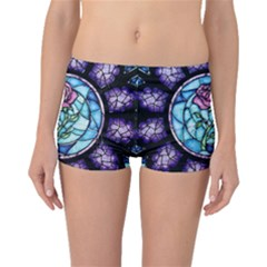 Cathedral Rosette Stained Glass Beauty And The Beast Boyleg Bikini Bottoms