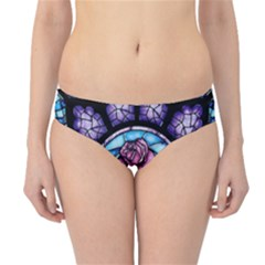 Cathedral Rosette Stained Glass Beauty And The Beast Hipster Bikini Bottoms