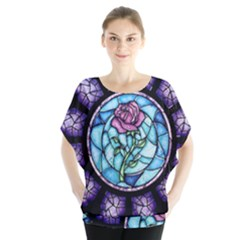 Cathedral Rosette Stained Glass Beauty And The Beast Blouse
