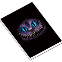 Cheshire Cat Animation Large Memo Pads
