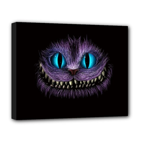 Cheshire Cat Animation Deluxe Canvas 20  X 16