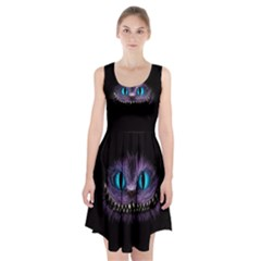 Cheshire Cat Animation Racerback Midi Dress