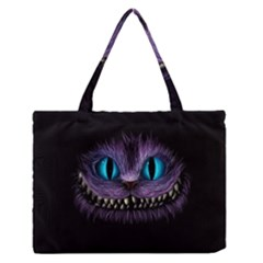 Cheshire Cat Animation Medium Zipper Tote Bag