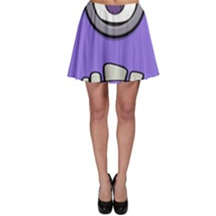 Evil Purple Skater Skirt