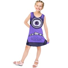 Evil Purple Kids  Tunic Dress