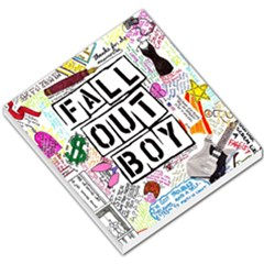 Fall Out Boy Lyric Art Small Memo Pads