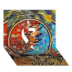 Grateful Dead Rock Band Ribbon 3D Greeting Card (7x5)