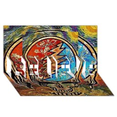 Grateful Dead Rock Band Believe 3d Greeting Card (8x4)