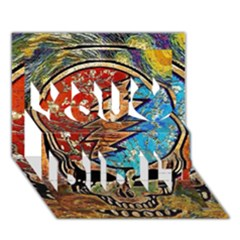 Grateful Dead Rock Band You Did It 3D Greeting Card (7x5)