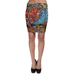 Grateful Dead Rock Band Bodycon Skirt