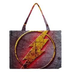 Grunge Flash Logo Medium Tote Bag
