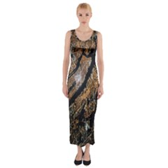 Night View Fitted Maxi Dress