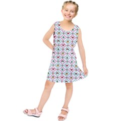 Christmas Decorations Background Kids  Tunic Dress