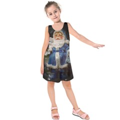 Christmas Nicholas Ball  Kids  Sleeveless Dress