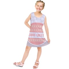 Merry Christmas  Kids  Tunic Dress