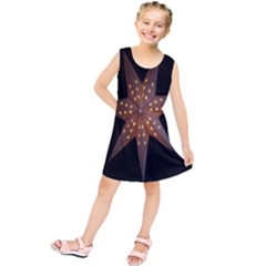 Star Light Decoration Atmosphere Kids  Tunic Dress