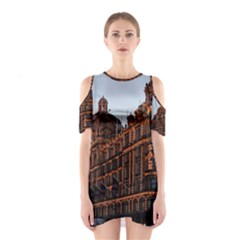 Store Harrods London Cutout Shoulder Dress