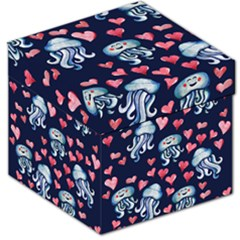 Jellyfish Love Storage Stool 12