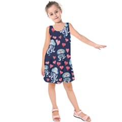 Jellyfish Love Kids  Sleeveless Dress