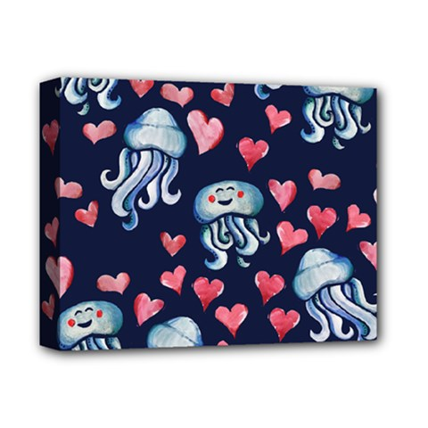 Jellyfish Love Deluxe Canvas 14  X 11