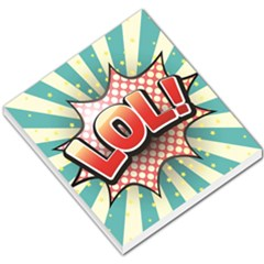 Lol Comic Speech Bubble Vector Illustration Small Memo Pads