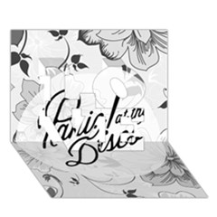 Panic At The Disco Flowers Love 3d Greeting Card (7x5)
