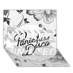 Panic At The Disco Flowers You Are Invited 3d Greeting Card (7x5)