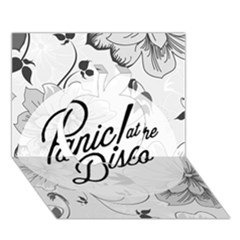 Panic At The Disco Flowers Apple 3d Greeting Card (7x5)