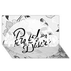 Panic At The Disco Flowers #1 Dad 3d Greeting Card (8x4)