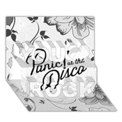 Panic At The Disco Flowers You Rock 3D Greeting Card (7x5)